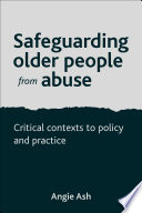 Safeguarding Older People From Abuse