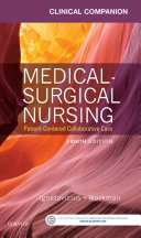 Clinical Companion for Medical Surgical Nursing   E Book