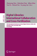 Digital Libraries  International Collaboration and Cross Fertilization