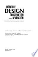 Laboratory Design, Construction, and Renovation