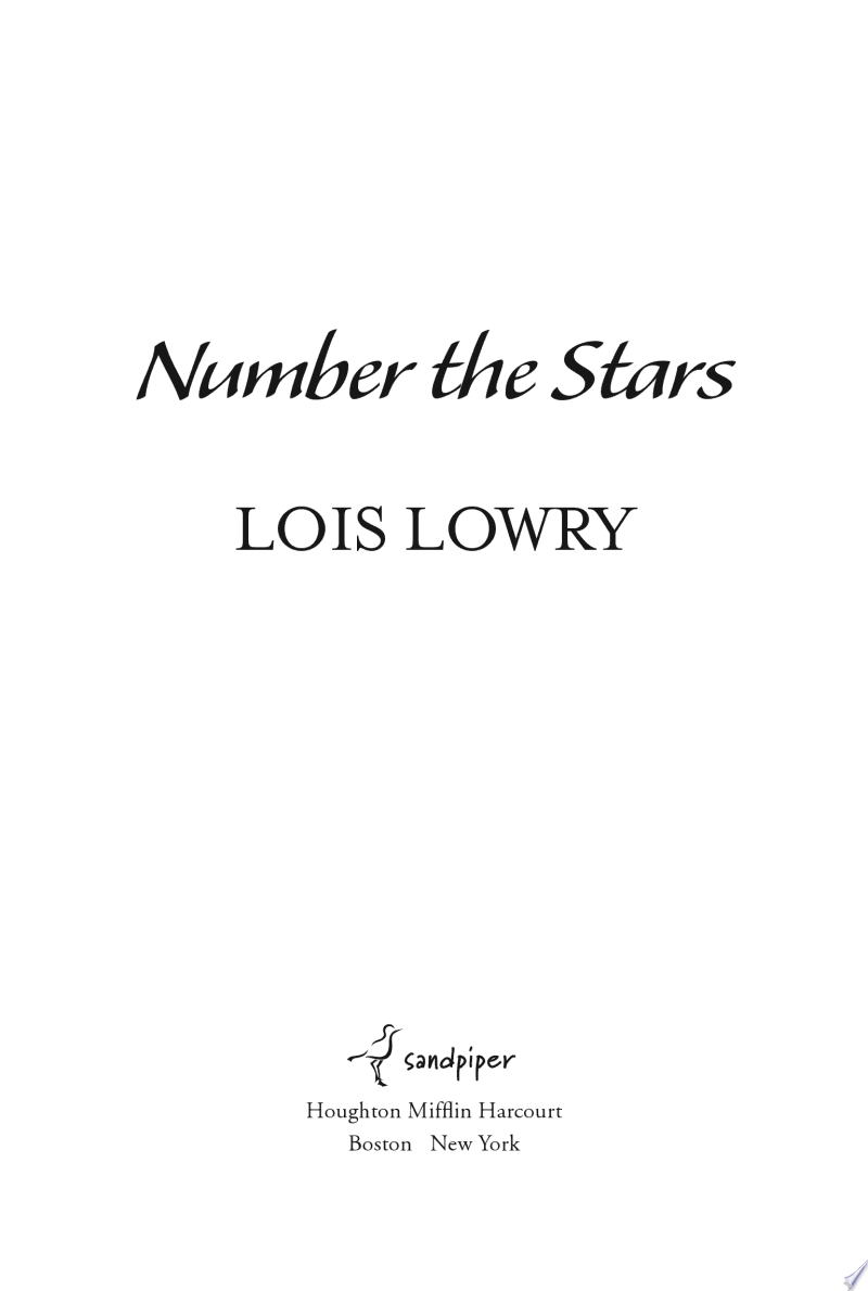 Number the Stars image