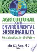 Agricultural and Environmental Sustainability