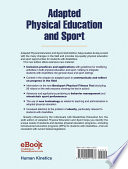 """Adapted Physical Education and Sport, 6E"" by Winnick, Joseph, Porretta, David"