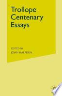 Trollope Centenary Essays