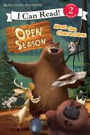 Open Season  Meet the Characters