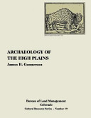 Archaeology Of The High Plains