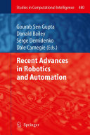 Recent Advances in Robotics and Automation