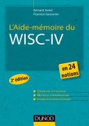 Pdf L'Aide-mémoire du Wisc-IV - 2e éd. Telecharger