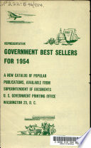 Representative Government Best Sellers For 1954