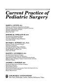 Current Practice of Pediatric Surgery