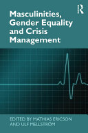 Masculinities  Gender Equality and Crisis Management