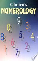 Cheiro S Numerology