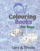 Colouring Books for Boys Cars   Trucks