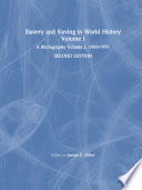Slavery and Slaving in World History  A Bibliography  1900 91  v  1