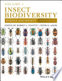 Insect Biodiversity  : Science and Society , Volume 1