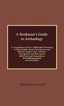 A Bookman s Guide to Archaeology