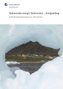 The west Nordic renewable energy sources - mini green book