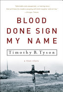 Blood Done Sign My Name ebook