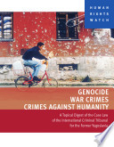 Genocide War Crimes And Crimes Against Humanity Book