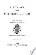 A Romance of the 19th Century