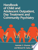 Handbook Of Child And Adolescent Outpatient Day Treatment A