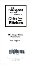 Gifts from Your Kitchen