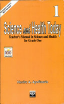Science and Health Today 1 Teacher s Manual1st Ed  1997