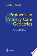 Protocols In Primary Care Geriatrics Book PDF