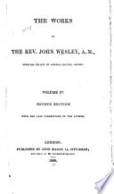 The Works Of The Rev John Wesley A M