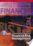 Professional S Handbook Of Financial Risk Management Book PDF