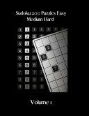 Sudoku 200 Puzzles Easy Medium Hard Volume 1
