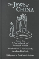 The Jews of China: Historical and comparative perspectives