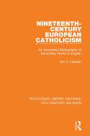 Nineteenth Century European Catholicism