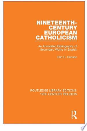 Free Download Nineteenth-Century European Catholicism PDF - Writers Club