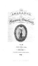 The Amaranth, Or Masonic Garland ebook