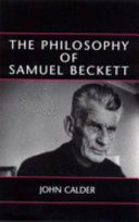 The Philosophy Of Samuel Beckett Book