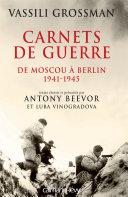 Carnets de guerre [Pdf/ePub] eBook