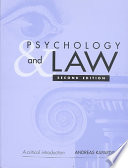 Psychology And Law Book PDF