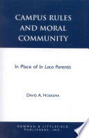 Campus Rules and Moral Community