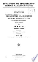 Hearings Before the Committee on Agriculture, House of Representatives, Eighty-first Congress, First-[second] Session