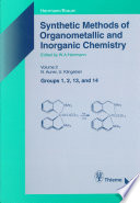 Synthetic Methods Of Organometallic And Inorganic Chemistry Volume 2 1996 Book PDF