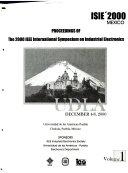Proceedings of the     IEEE International Symposium on Industrial Electronics