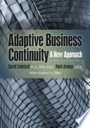 Adaptive Business Continuity  A New Approach