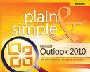 Microsoft   Outlook   2010 Plain   Simple