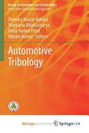 Automotive Tribology