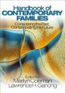 Handbook of Contemporary Families