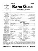 Band Guide Pdf/ePub eBook