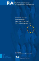 Perspectives of the European Law of Contractual Obligations