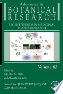 """""""Recent Trends in Medicinal Plants Research"""" by Lie-Fen Shyur"""
