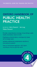 Oxford Handbook of Public Health Practice 4e